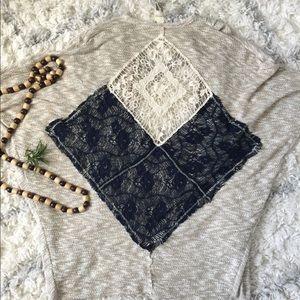Blu pepper bohemian sweater